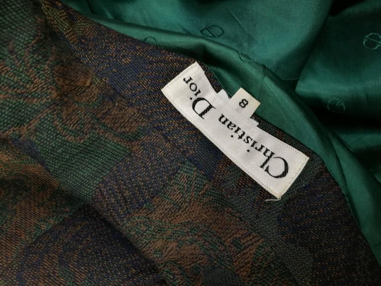 1980s Christian Dior Vintage Jacket 6