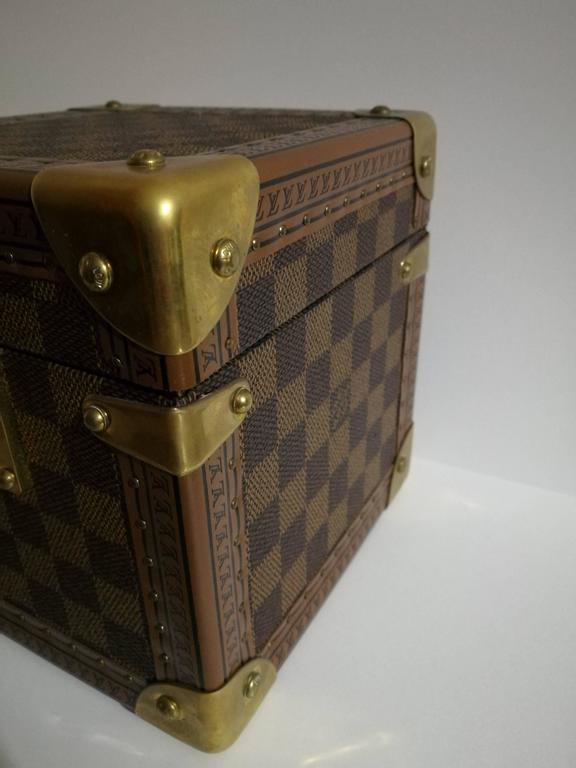 Louis Vuitton Monogram Watches & Jewels Case In Excellent Condition For Sale In Capri, IT