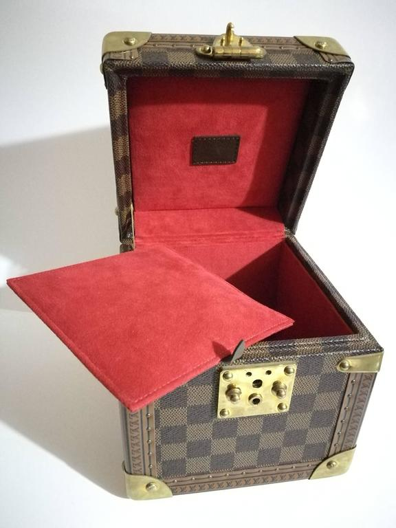 Louis Vuitton Monogram Watches & Jewels Case For Sale 3
