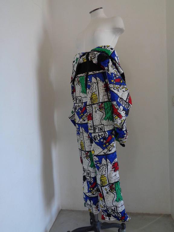 J.C de Castelbajac multicolour Jumpsuit  4