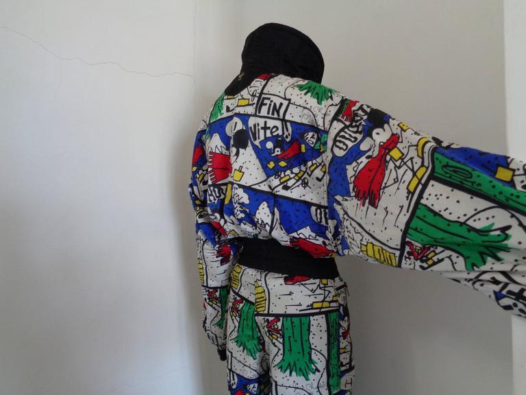 Women's or Men's J.C de Castelbajac multicolour Jumpsuit  For Sale