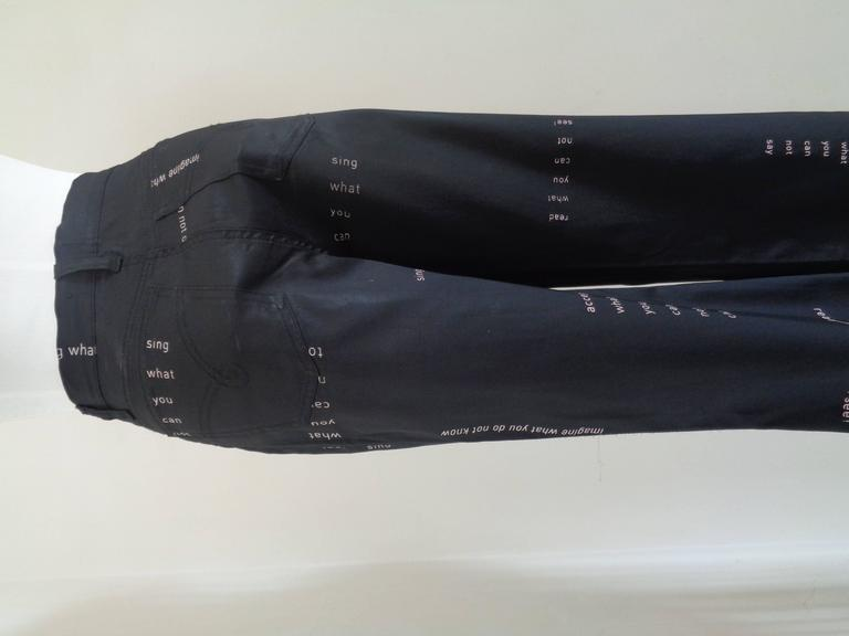 Moschino Jeans Black Jeans 6