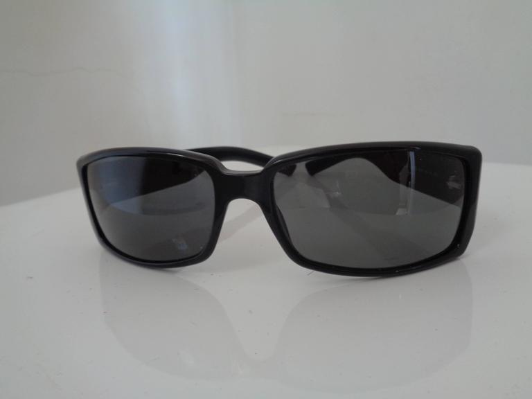 Black Gucci black sunglasses For Sale