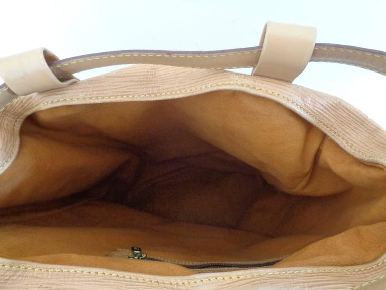 Women's or Men's Louis Vuitton Epi Beije Leather Backpack Satchel