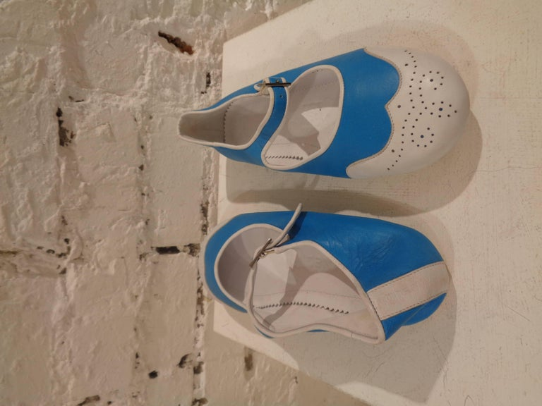 Chanel white and blu ballerina 3