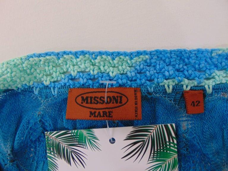 c4868fa8c3ef Women s Missoni mare blu cotton dress For Sale