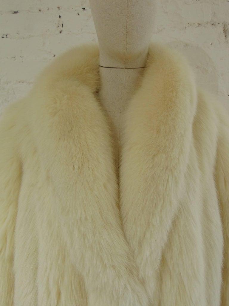 Franco Lo Russo white fox fur 3