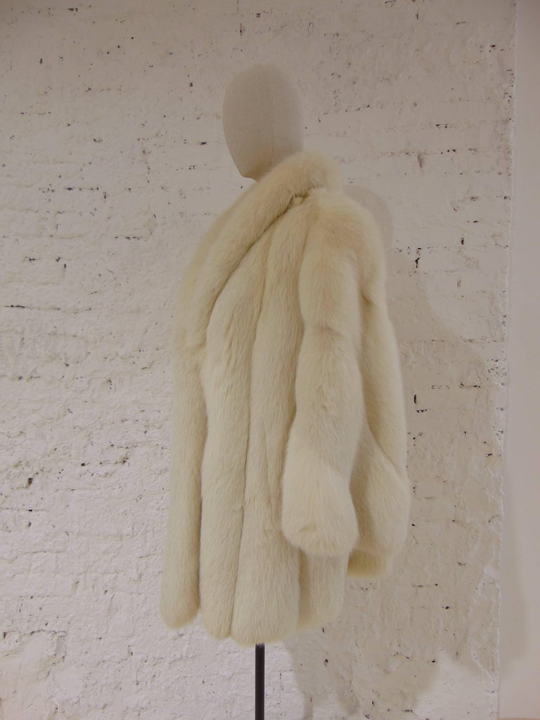 Franco Lo Russo white fox fur 7
