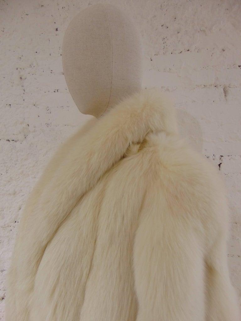Franco Lo Russo white fox fur 4
