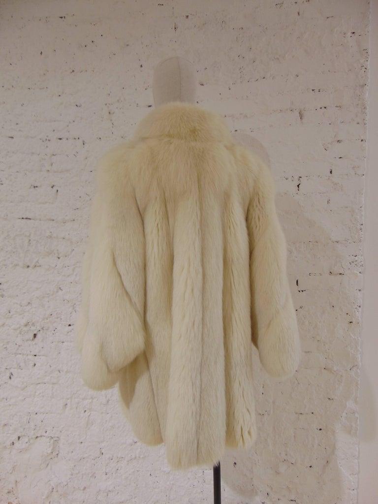Franco Lo Russo white fox fur 6