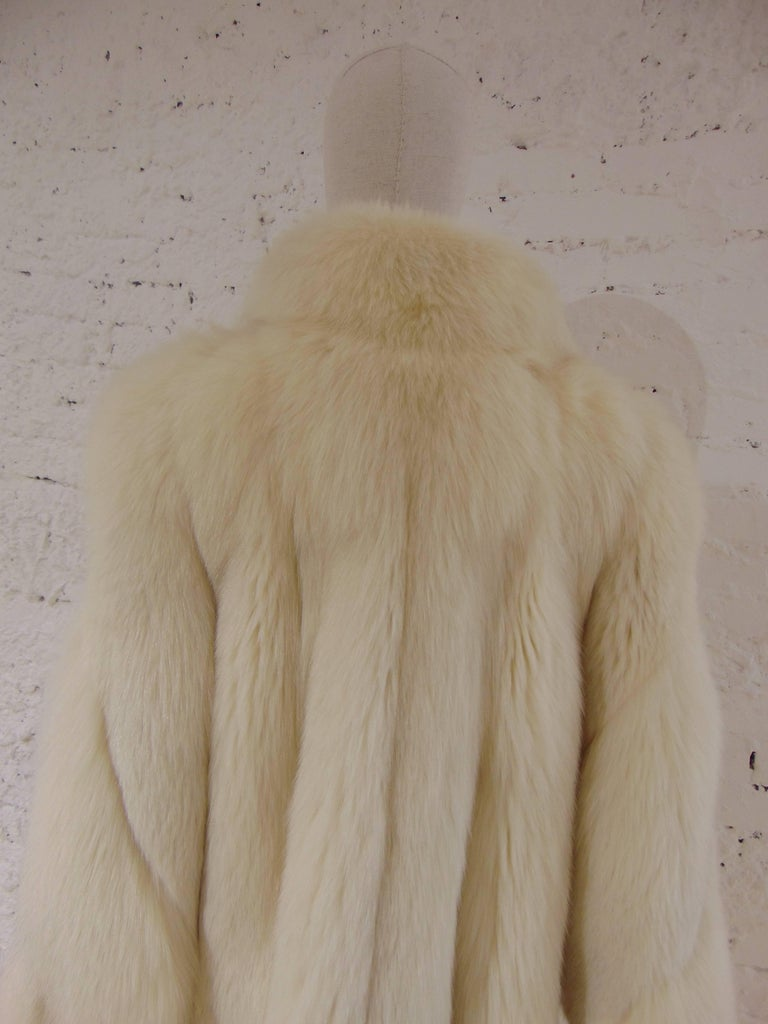 Franco Lo Russo white fox fur 5