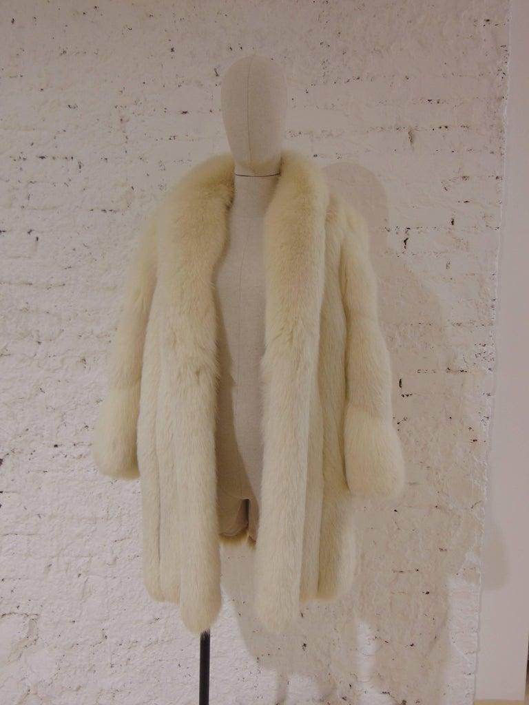 Franco Lo Russo white fox fur 2
