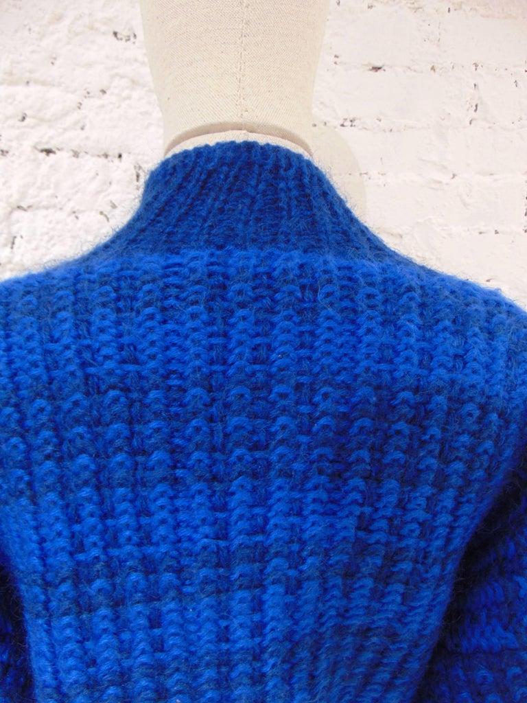 Emilio Pucci by Herwool blu cardigan  For Sale 2