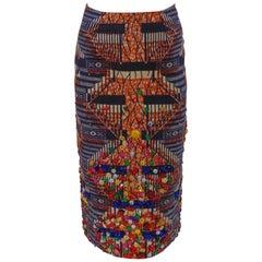 Stella Jean multicoloured swarovski skirt