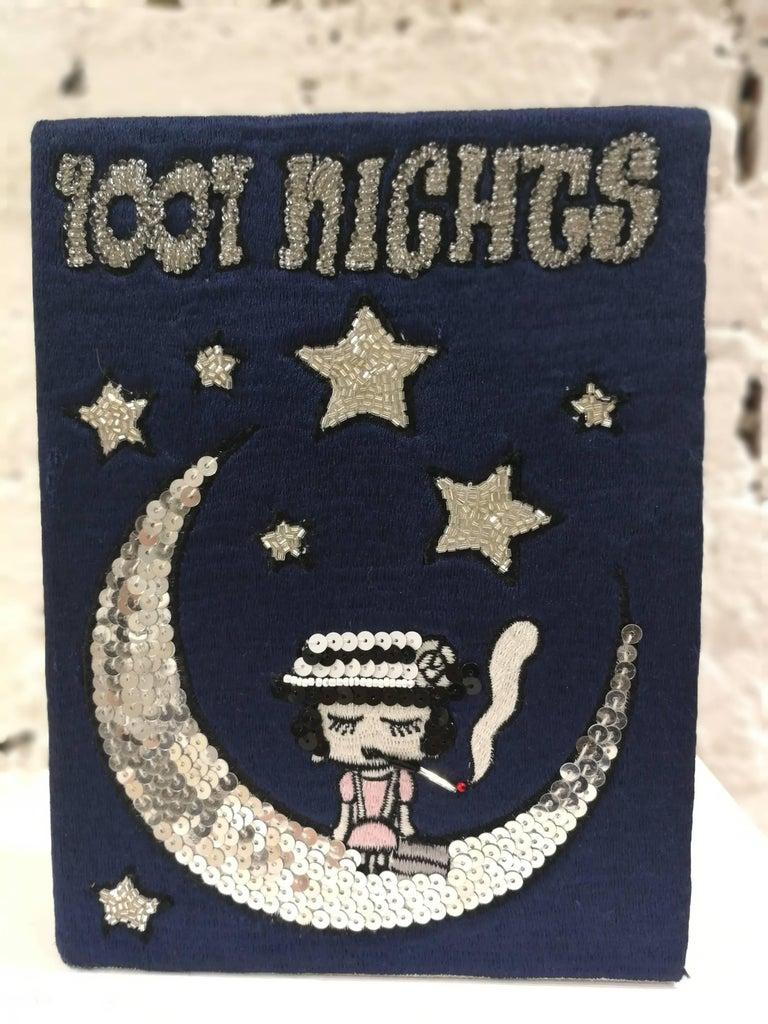 Mua Mua Coco 1001 Nights Book pochette and Shoulder bag In New Condition In Capri, IT