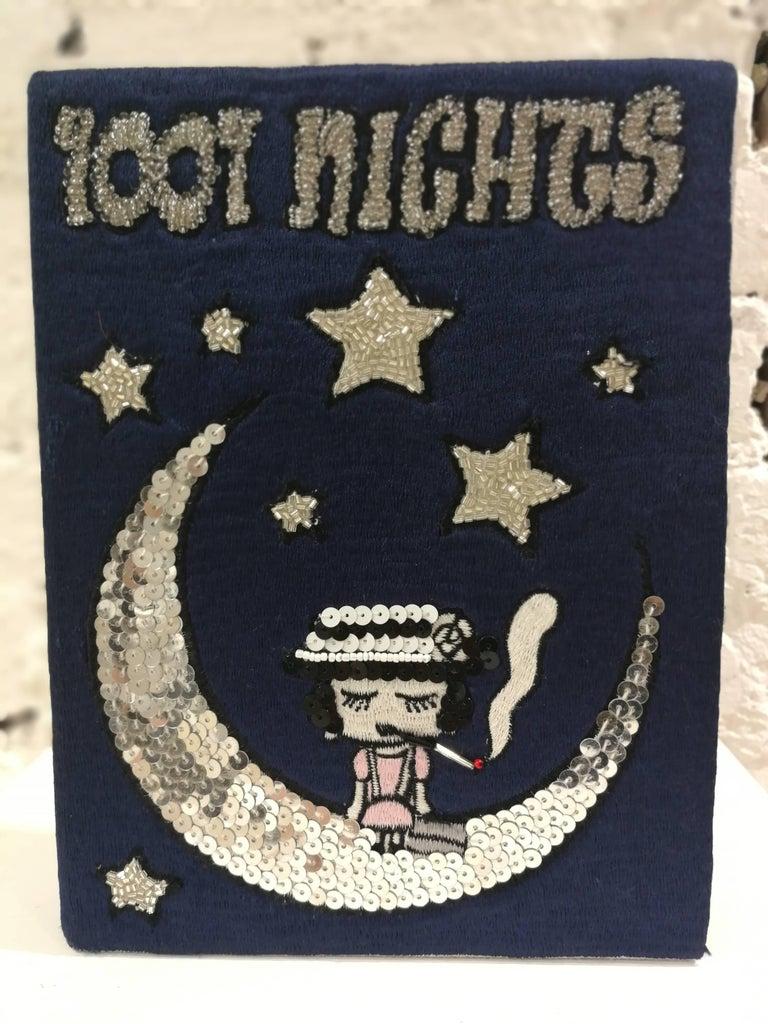 Women's or Men's Mua Mua Coco 1001 Nights Book pochette and Shoulder bag