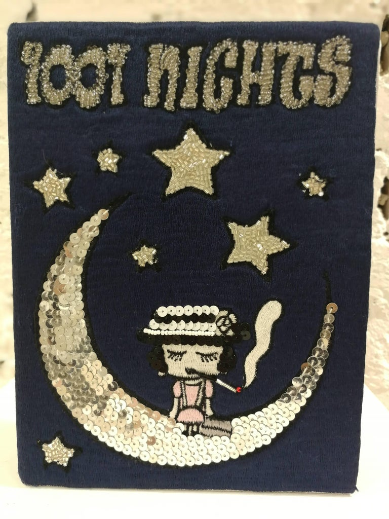 Mua Mua Coco 1001 Nights Book pochette and Shoulder bag 3