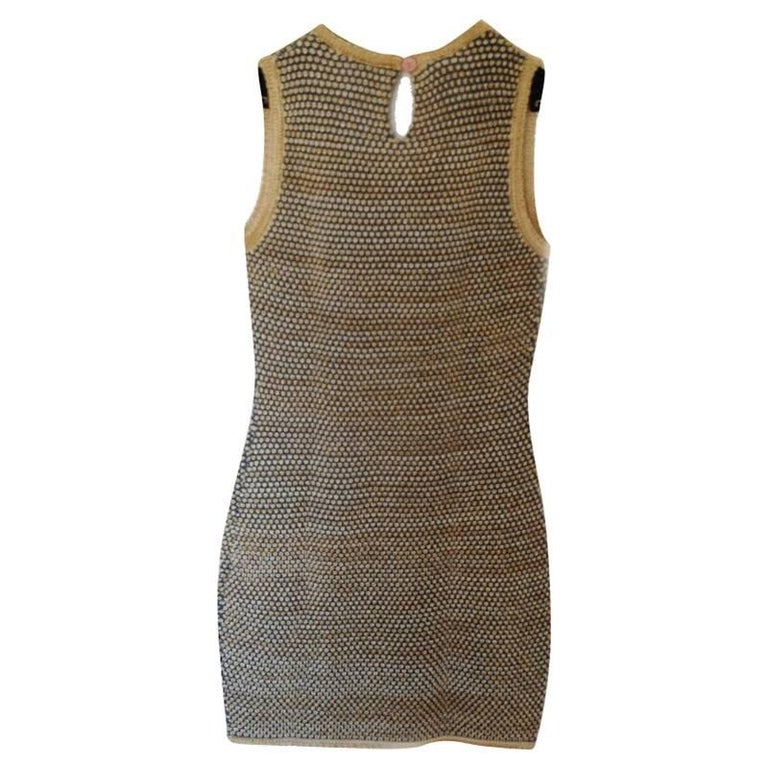 Chanel wool dress ,special collection. size 40