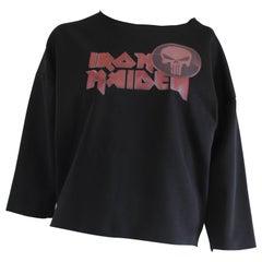 Vicolo NWOT Black Iron Maiden Shirt