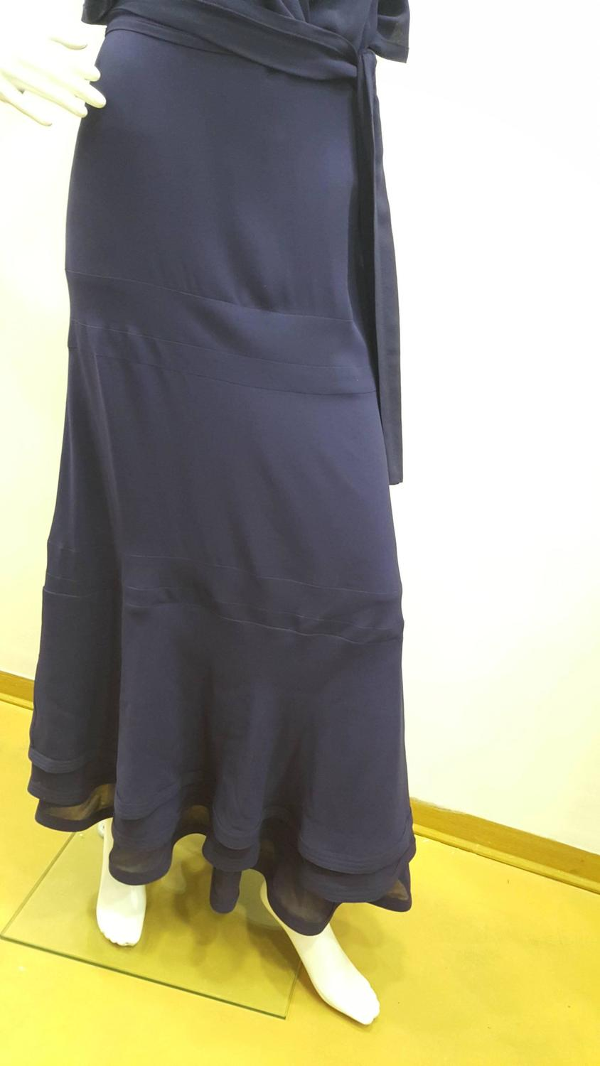 2006 39 s gucci haute couture blue long dress designed by for Haute couture price range