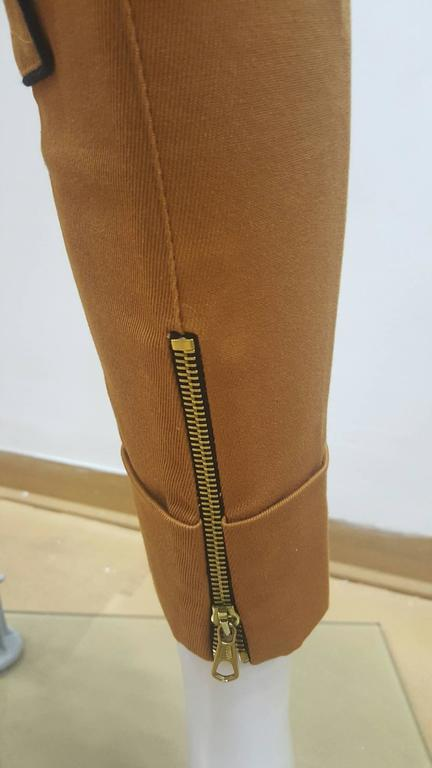2001 Balenciaga brown pants NWOT In New Never_worn Condition For Sale In Capri, IT