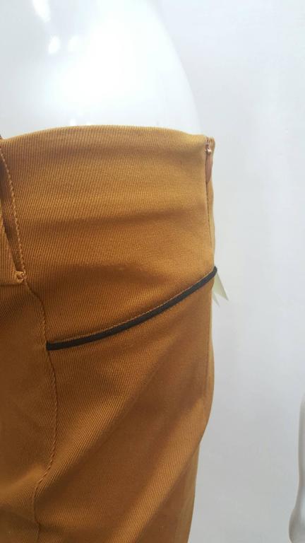 Brown 2001 Balenciaga brown pants NWOT For Sale