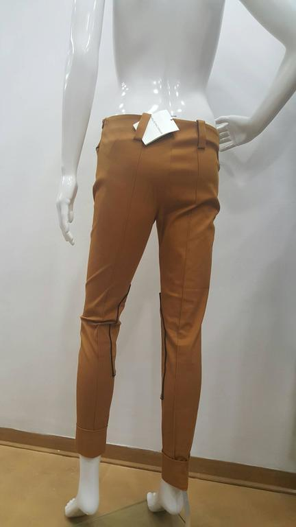 Women's 2001 Balenciaga brown pants NWOT For Sale