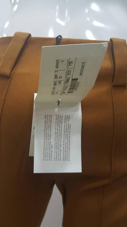 2001 Balenciaga brown pants NWOT 6