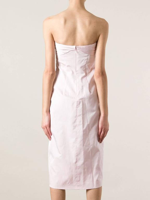 2000s Giambattista Valli light pink Dress 3