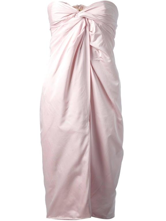 2000s Giambattista Valli light pink Dress In New never worn Condition For Sale In Capri, IT