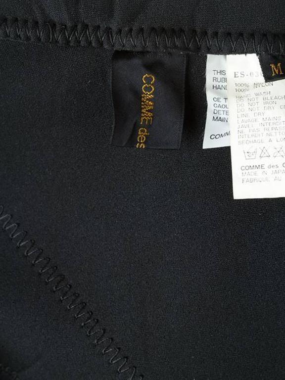 Women's Gorgeous  Comme Des Garcons Black Skirt For Sale