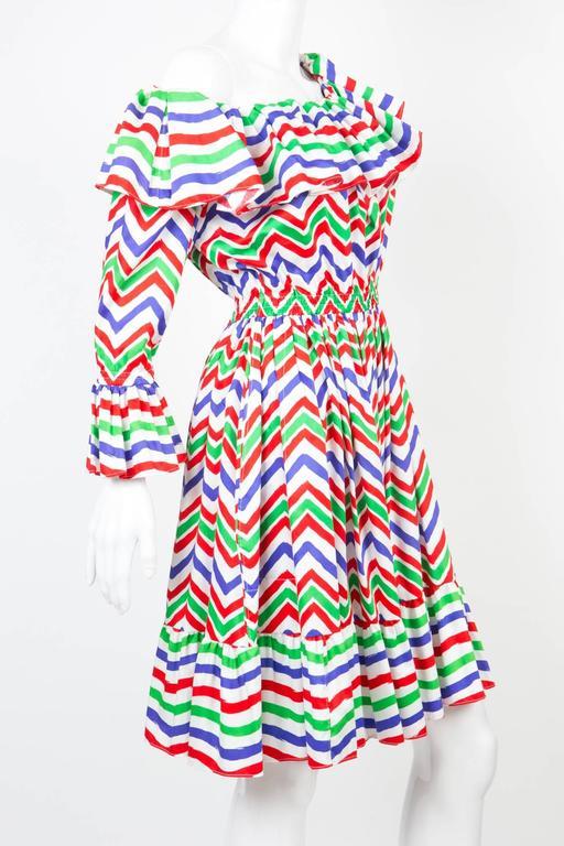 Gogeous Saint Laurent Cotton Cocktail Dress 3