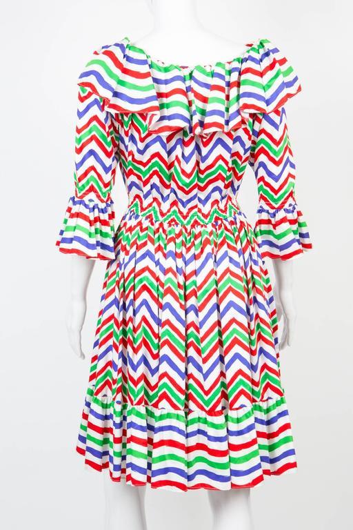 Gogeous Saint Laurent Cotton Cocktail Dress 4
