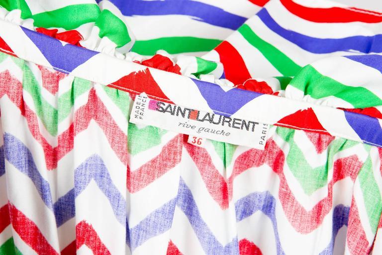 Gogeous Saint Laurent Cotton Cocktail Dress 5