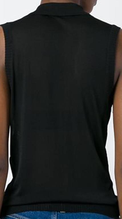 Christian Dior Black Evening Embellished Top 2