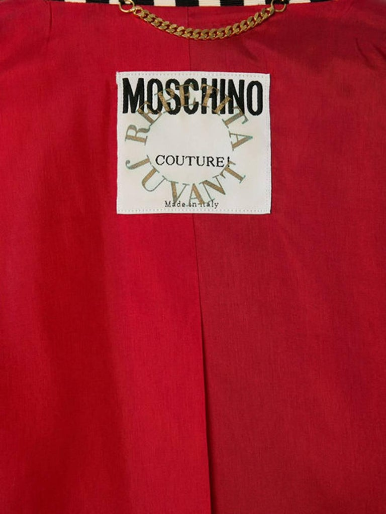 Women's Moschino Couture Multico Patches Blazer For Sale