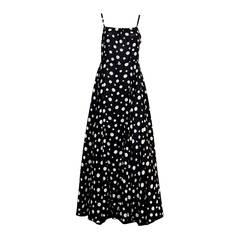 1960s Lanvin Evening Dress