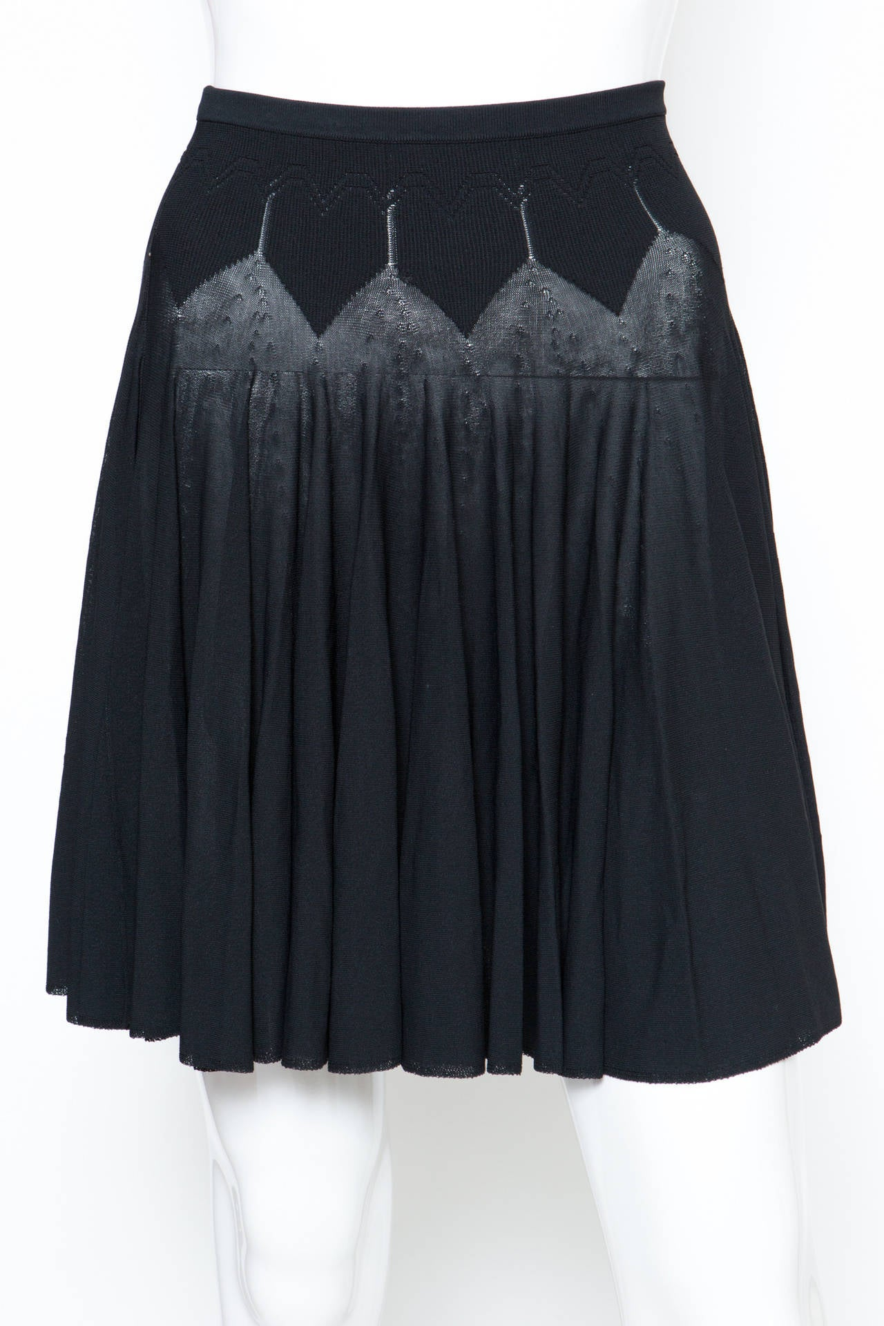 Vintage Alaia Dress s Alaia Black Iconic Mini