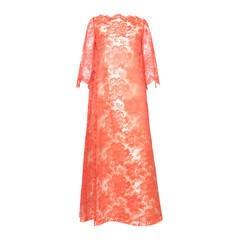 1960s Guy Laroche Evening Dress