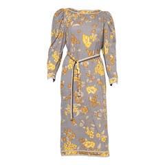 1970s Leonard Printed Dress