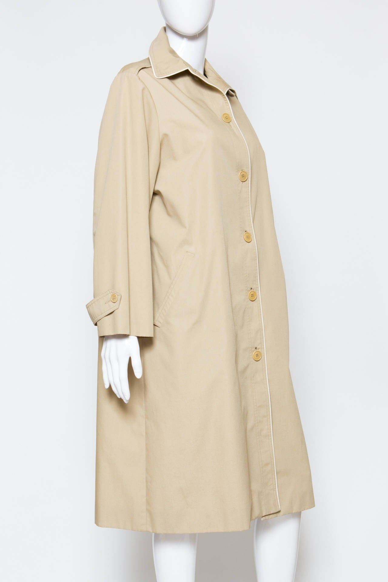 1975s Celine Camel Trench-Coat 3