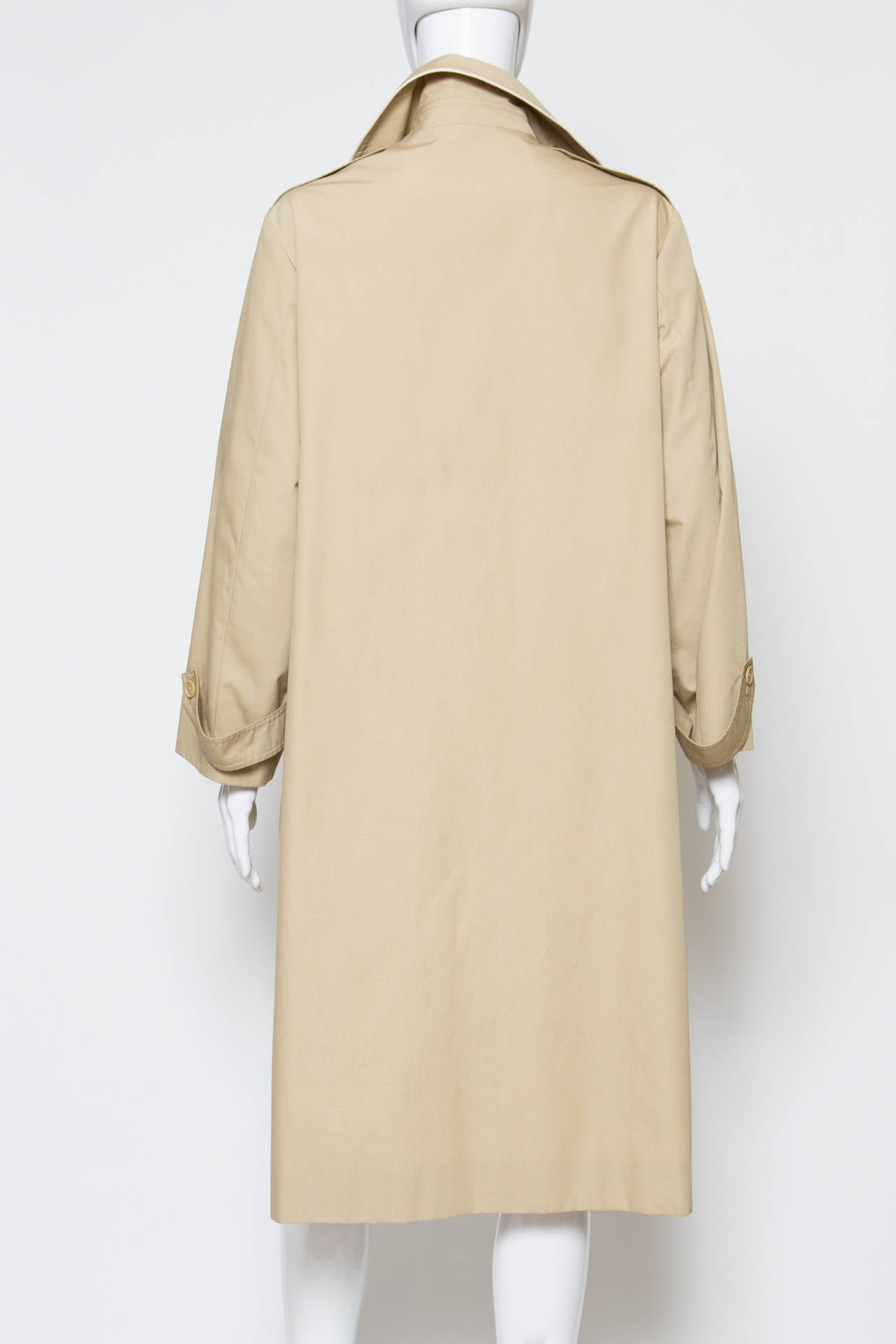 1975s Celine Camel Trench-Coat 5