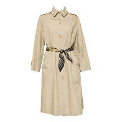 1975s Celine Camel Trench-Coat