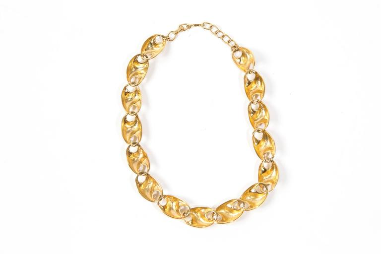 Christian Dior Gold Tone Necklace 2