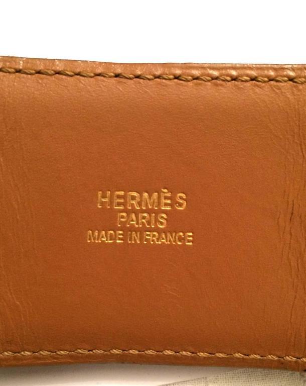 Hermes Black Calfskin Leather Collier de Chien Medor Belt 75cm In Excellent Condition For Sale In Paris, FR