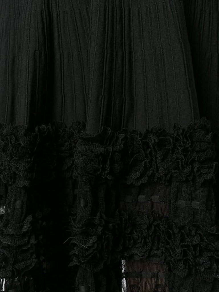 Azzedine Alaia Evening Skater Dress In Excellent Condition For Sale In Paris, FR