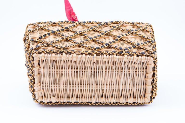 Chanel Catwalk Basket Bag, Spring / Summer 1990s For Sale 1