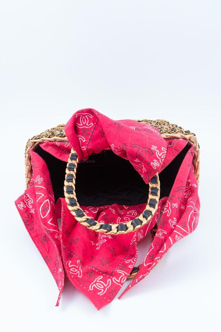 Chanel Catwalk Basket Bag, Spring / Summer 1990s For Sale 2