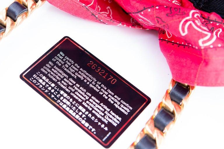 Chanel Catwalk Basket Bag, Spring / Summer 1990s For Sale 6