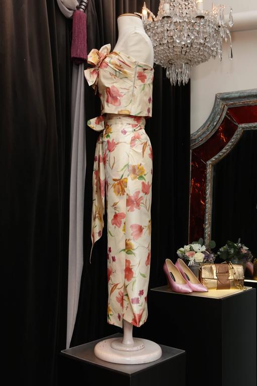 2008 Christian Dior Dress Ensemble in Floral Print 2